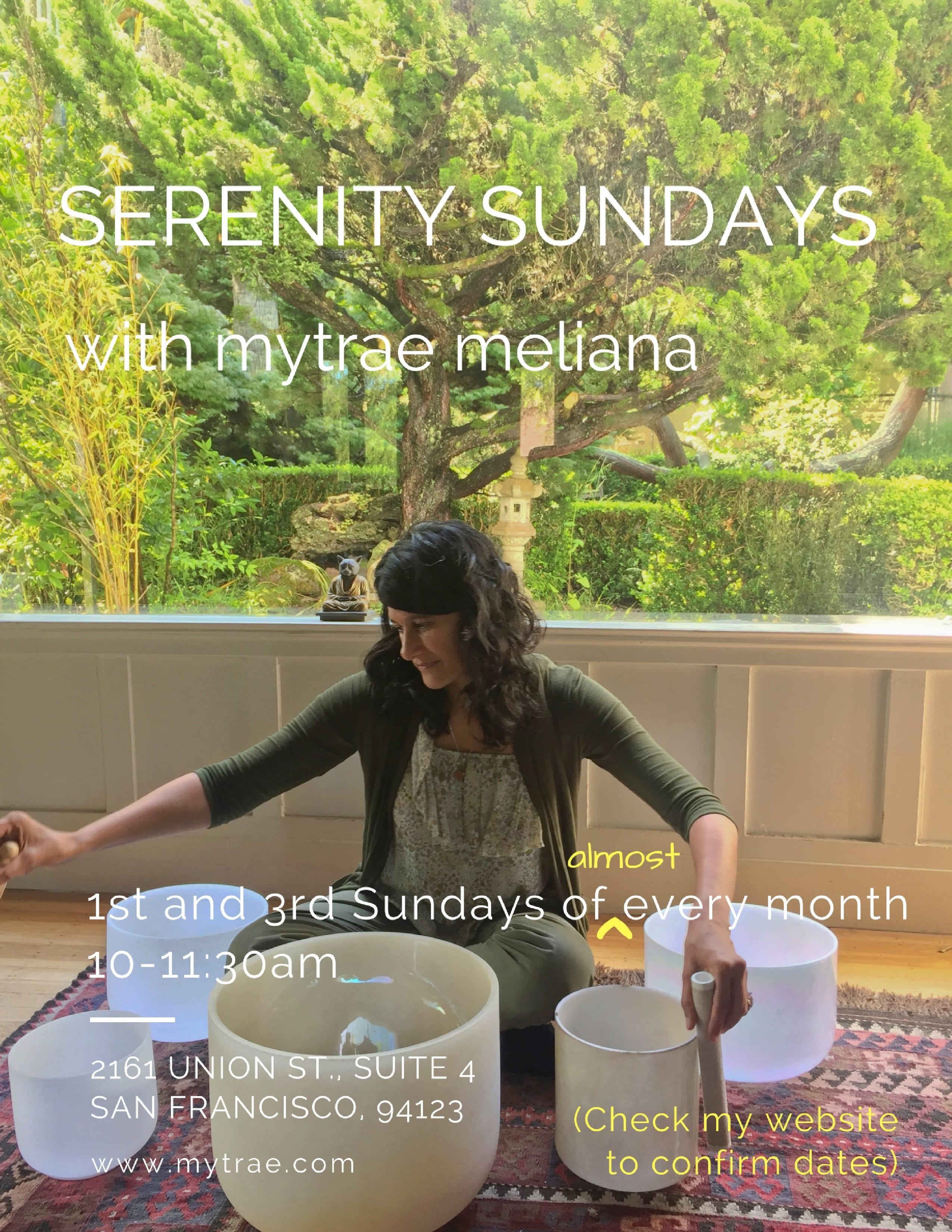 Serenity Sundays