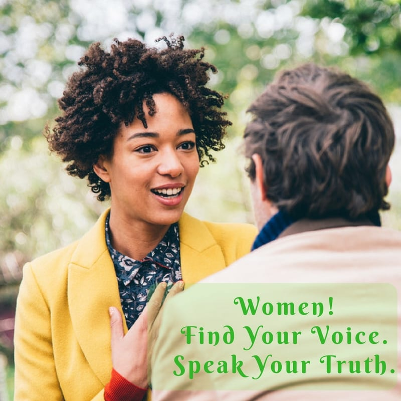 "Upcoming group ""Women! Find Your Voice. Speak Your Truth"""