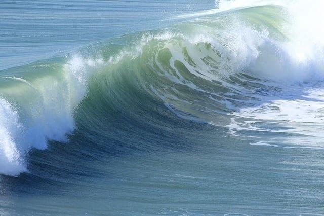 Serenity Ocean Waves