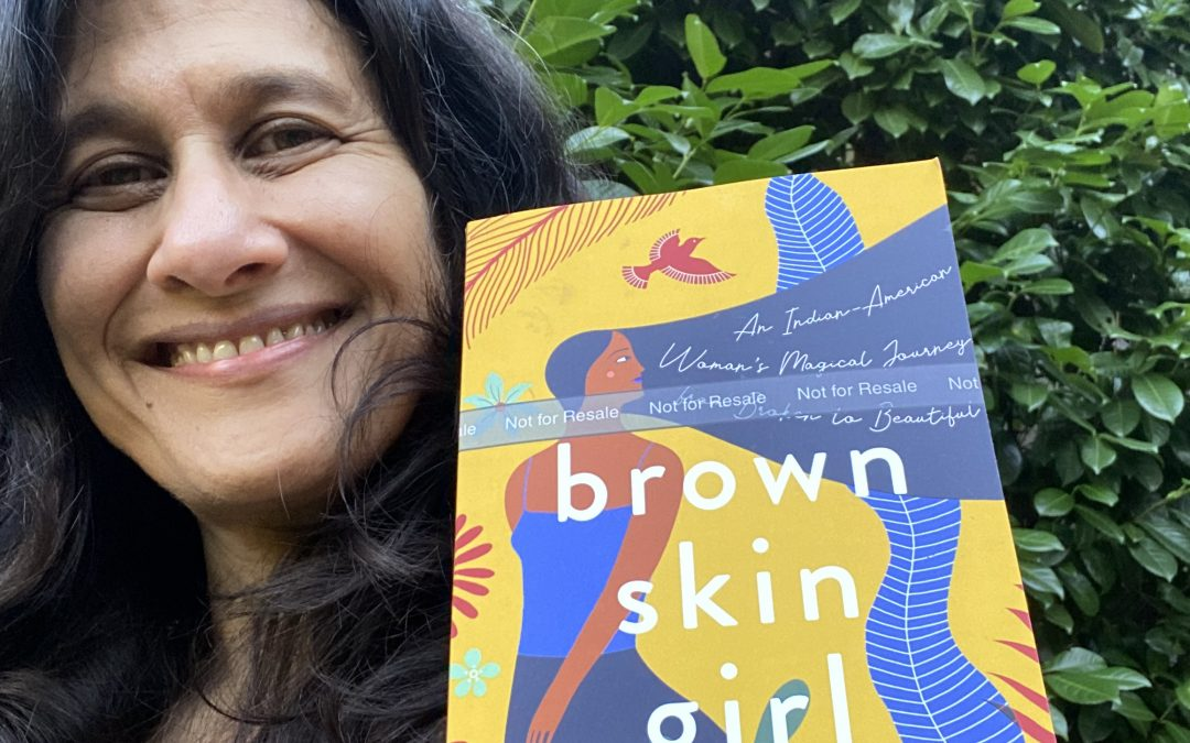 "Virtual Book Talk on my memoir ""Brown Skin Girl"" on November 21st"